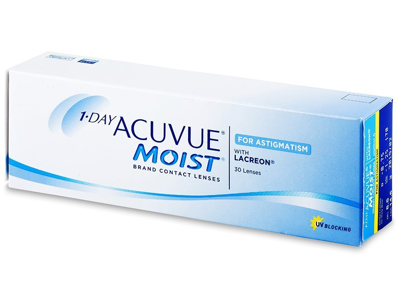 1 Day Acuvue Moist for Astigmatism (30 шт.)